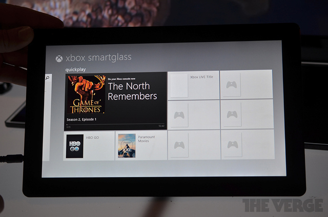 Gallery Photo: Microsoft Xbox SmartGlass demo images