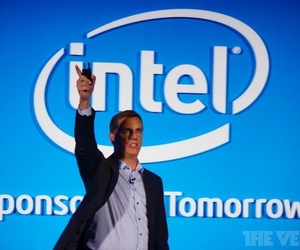 intel press conference