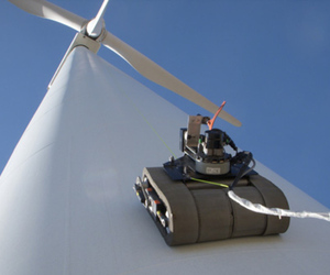 GE wind turbine robot