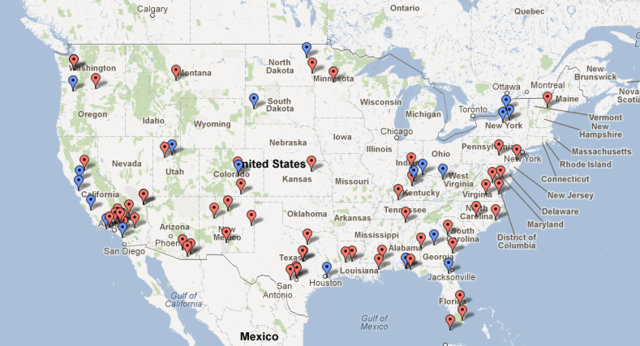 Map Us Navy Bases Images Army Bases In Usa Map Related - Us military base locations map