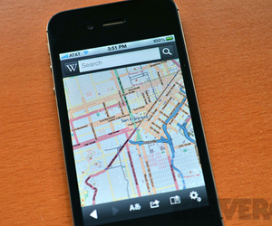 Wikipedia for iOS update with OpenStreetMap