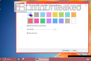 Windows 8 no aero glass (Winunleaked)