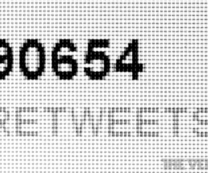 twitter retweet count