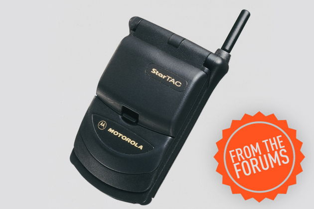 Motorola StarTAC 1996 from the forums