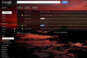 gmail custom themes