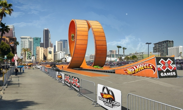 x-games hot wheels loop (mattel)