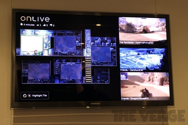 OnLive Multiview HDTV E3 2012