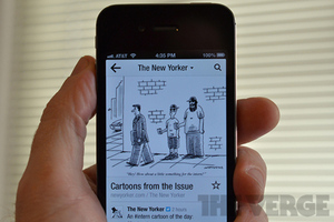 New Yorker Flipboard iPhone