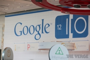 Google IO 2012 Lobby Sign