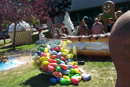 Android 4.1 Jelly Bean monument