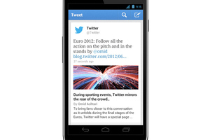 Gallery Photo: Twitter 4.3 for iOS and 3.3 for Android images