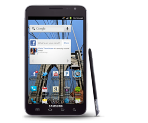 Samsung Galaxy Note ICS