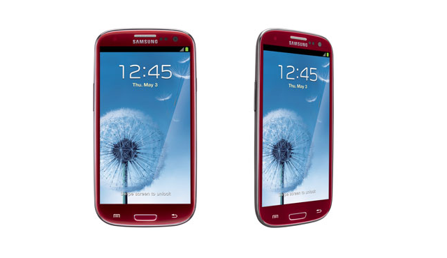 AT&amp;T Red Galaxy S III