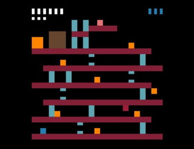 Minimalist Donkey Kong