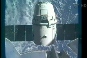 spaceX dragon release from ISS