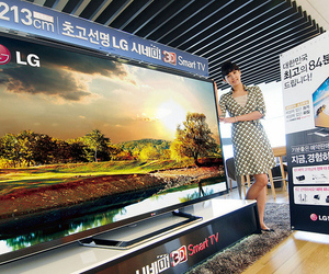 LG ultra high definition TV