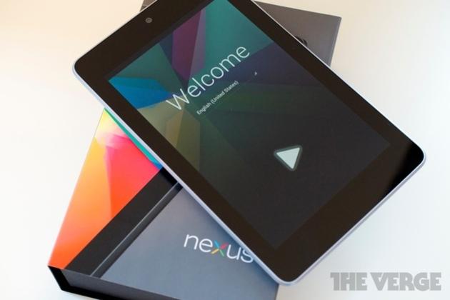 Nexus 7 box