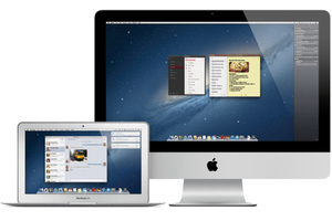 Mountain Lion Apple stock image