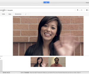 Google+ Hangout in Gmail