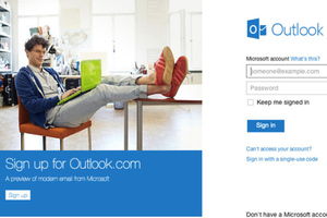 outlook signup