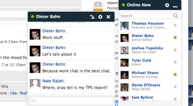 Yammer Screengrab redux