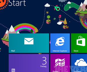 Windows 8 Start Screen patterns