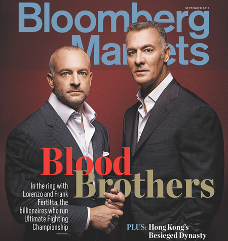 bloomberg markets   september 2012 cover wealth issue large Fertitta Bros. to Settle Disputes in the Octagon