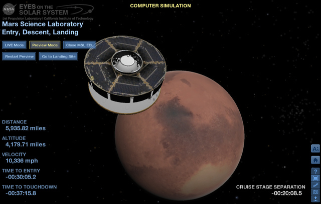 mars landing simulation - photo #14
