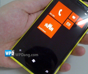 Nokia Lumia yellow prototype (WPDang)