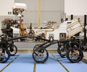 Mars Curiosity rover