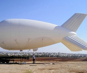 Military spy blimp