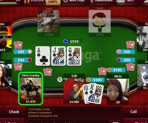 zynga poker mobile