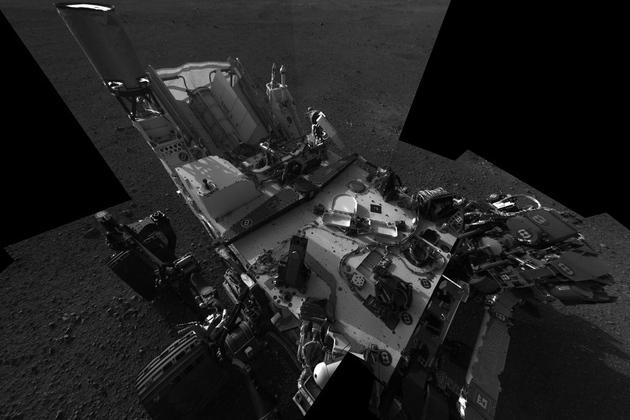 NASA Curiosity Rover mars self portrait