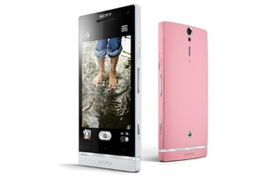 Sony Xperia SL pink 2