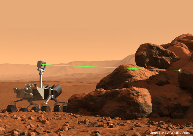 mars rover laser camera - photo #14
