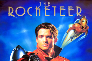 rocketeer movie poster