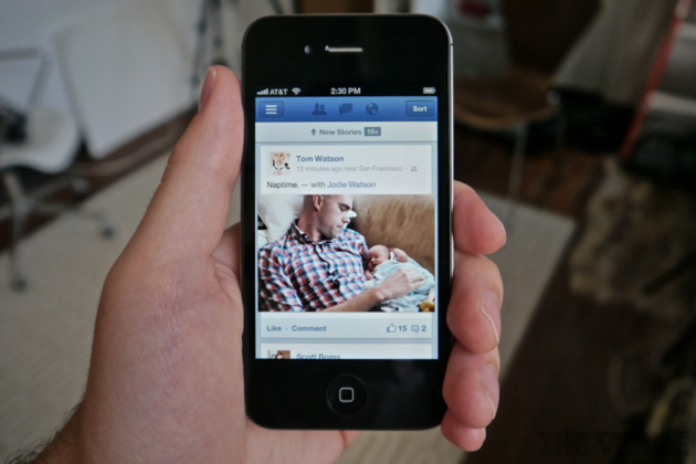 facebook native ios app