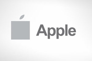 apple logo in ms style