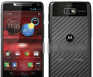 Motorola Droid RAZR M leaked pic