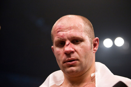Photo of Fedor Emelianenko by Esther Lin for Strikeforce.