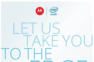 Motorola/Intel invitation