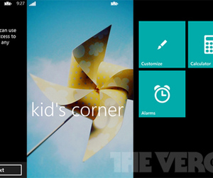 Kid's Corner Windows Phone 8