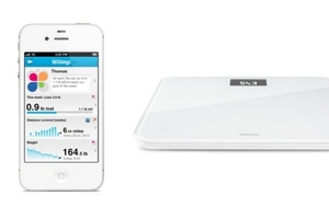 Withings app and scale