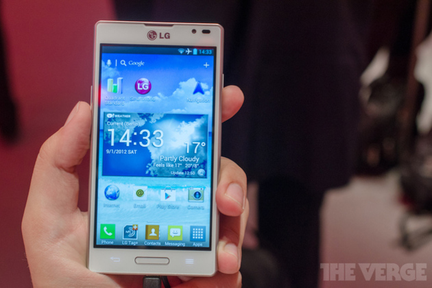 photo image Optimus L9 hands-on: LG takes L-Style to 4.7 inches