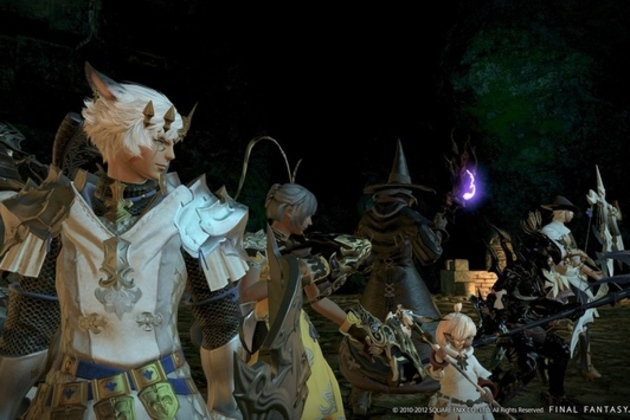 photo image 'Final Fantasy XIV: A Realm Reborn' shows off 'Limit Break' trailer, screenshots