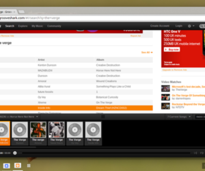 Grooveshark on Chrome OS
