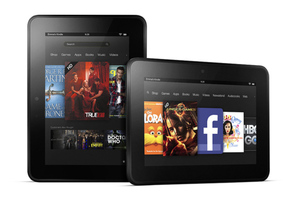 Amazon Kindle Fire HD 7 press