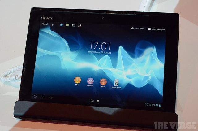 Gallery Photo: Sony Xperia Tablet S hands-on pictures from IFA 2012