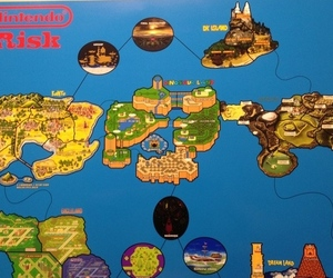 Nintendo Risk game