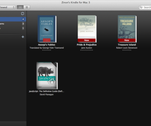 Kindle Mac app screenshot